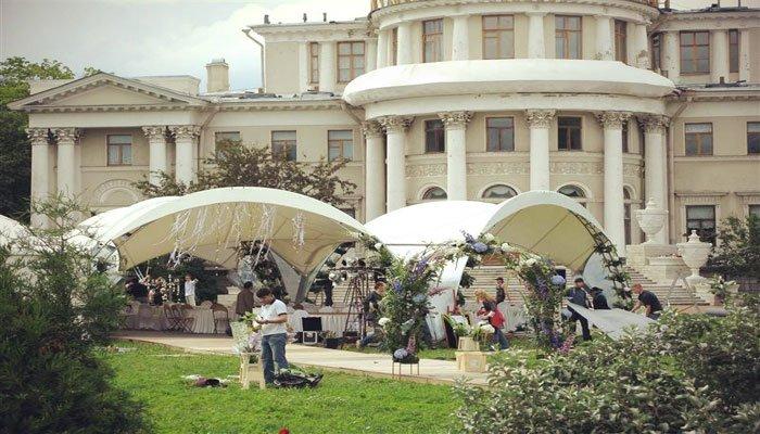 """Ресторанный комплекс для свадьбы """"Елагин парк"""""""