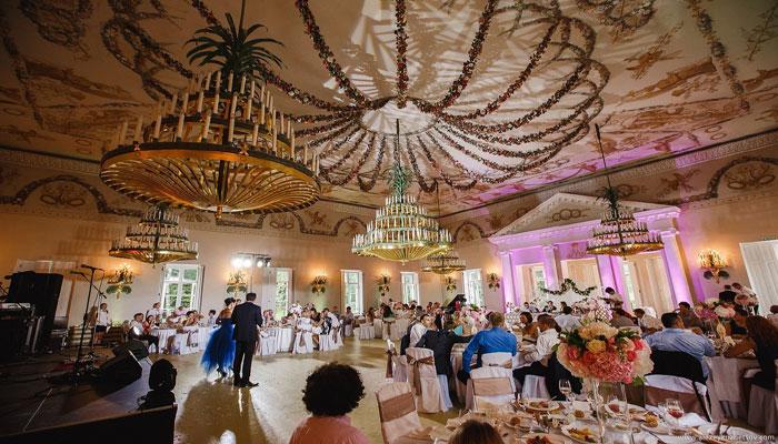 """Ресторан для свадьбы, банкетный зал """"Павильон роз"""""""