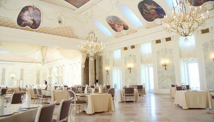 """Ресторан для свадьбы, банкетный зал """"Летний Дворец"""""""