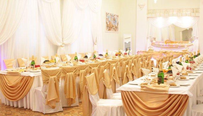 """Ресторан для свадьбы, банкетный зал """"Зеркальный"""""""