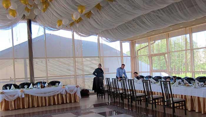 """Ресторан для свадьбы, банкетный зал  """"Паруса"""" в Токсово"""