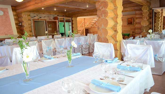 """Загородный ресторан для свадьбы, банкетный зал """"Осиновое Гнездо"""""""