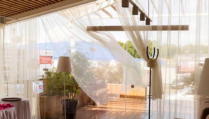 """Ресторан для свадьбы, банкетный зал """"Море"""" на Крестовском острове"""