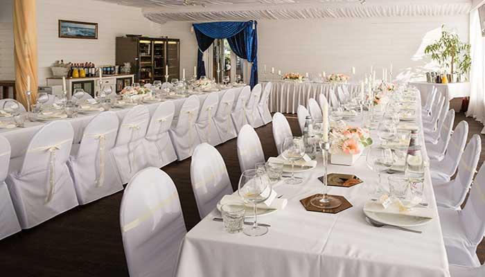 """Ресторан для свадьбы, банкетный зал """"Панорамный"""" на Крестовском острове"""