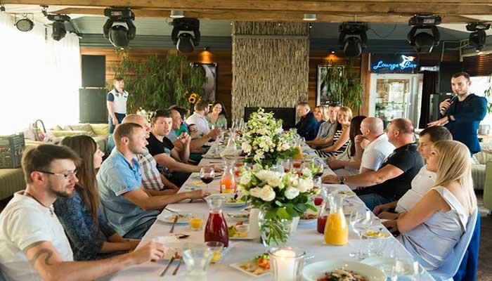 """Ресторан для свадьбы, банкетный зал  """"Паруса"""" на Крестовском острове"""