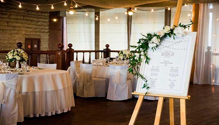 Ресторан для свадьбы, банкетный зал Беринг