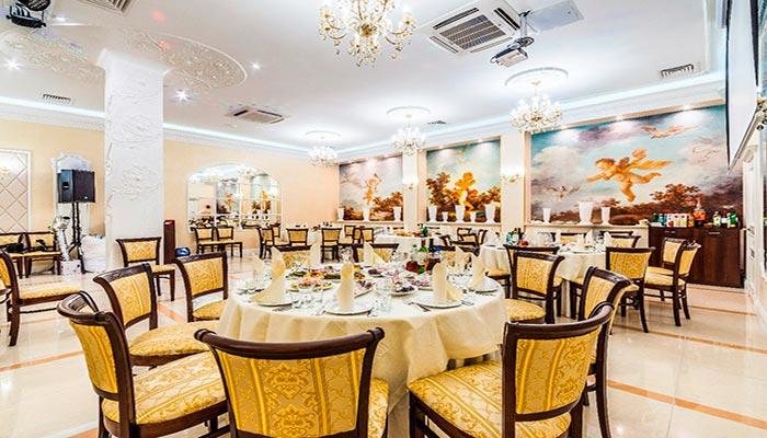 Ресторан для свадьбы, банкетный зал Банкет Холл Люкс / Lux