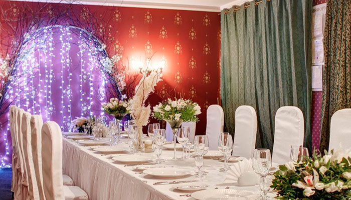 Ресторан для свадьбы, банкетный зал Гайот / Guyot