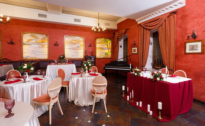 Ресторан для свадьбы, банкетный зал Марко Поло / Marco Polo