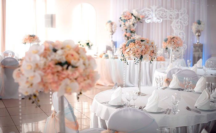"""Ресторан для свадьбы, банкетный зал """"Крем де Ля Крем / Creme De La Creme"""""""