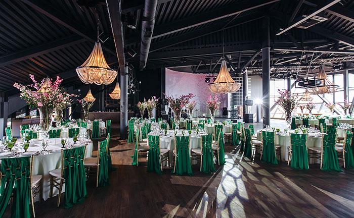 Ресторан для свадьбы, банкетный зал Роял Бич / Royal Beach на Крестовском острове