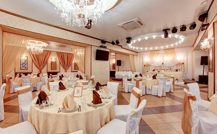 """Ресторан для свадьбы, банкетный зал """"Багратион Холл"""" на Ленинском проспекте"""