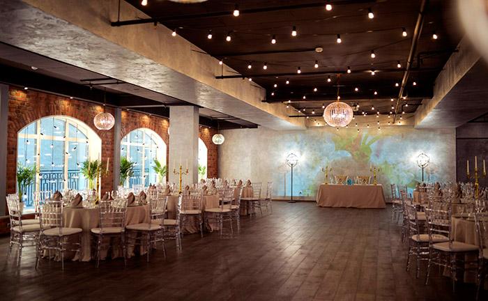 Ресторан для свадьбы, банкетный зал Атриум Холл / Atrium Hall на Английской набережной