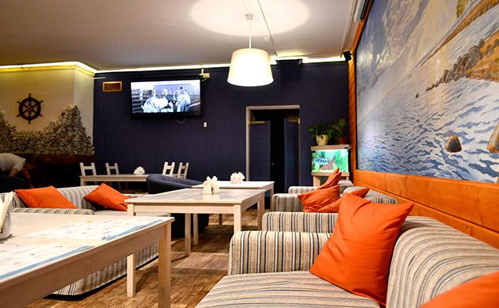 Загородный ресторан, банкетный зал, кафе Капитан в Солнечном