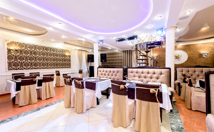 Ресторан для свадьбы, банкетный зал Виноград / Vinograd