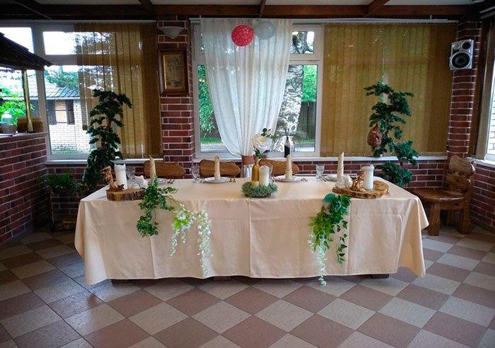 Ресторан для свадьбы, банкетный зал ДубровЪ