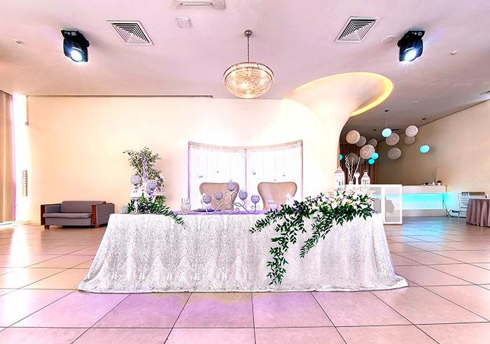 Ресторан для свадьбы, банкетный зал Небесный