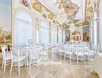 Ресторан для свадьбы Дворец Елизаветино