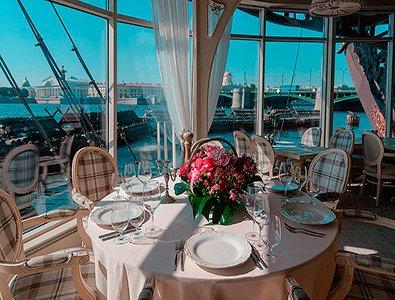 Ресторан для свадьбы, банкетный зал Летучий Голландец на корабле