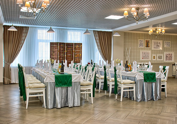Ресторан для свадьбы, банкетный зал БанкетОбед