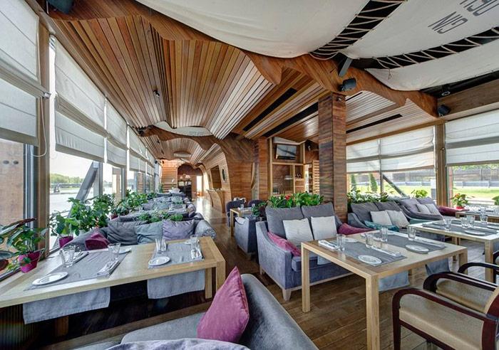 Ресторан для свадьбы, банкетный зал Чайка на Крестовском острове
