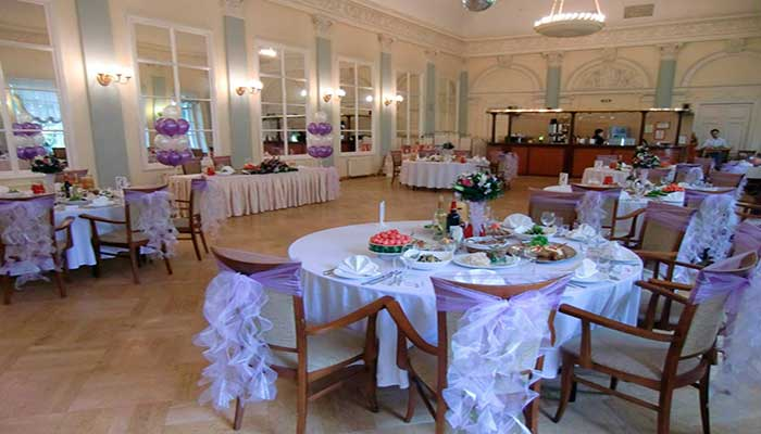 Ресторан для свадьбы, банкетный зал Дом Актера