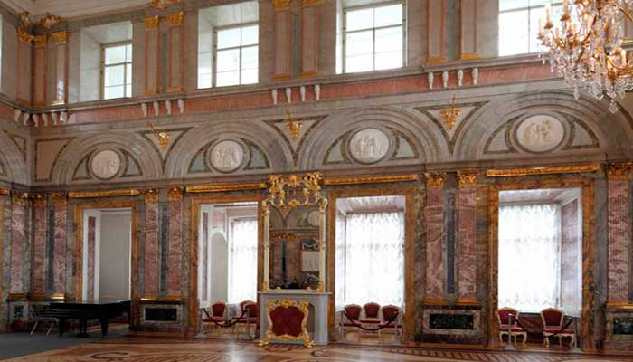 Ресторан для свадьбы, банкетный зал Мраморный Дворец