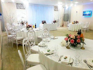 Ресторан для свадьбы Ниагара на Римского Корсакова