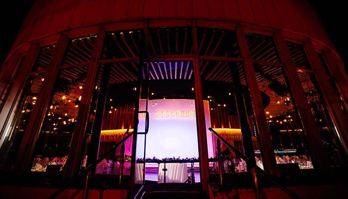 Ресторан для свадьбы, банкетный зал Zeppelin Цеппелин