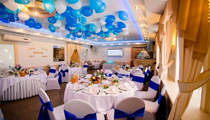 Ресторан для свадьбы, банкетный зал Корсаков