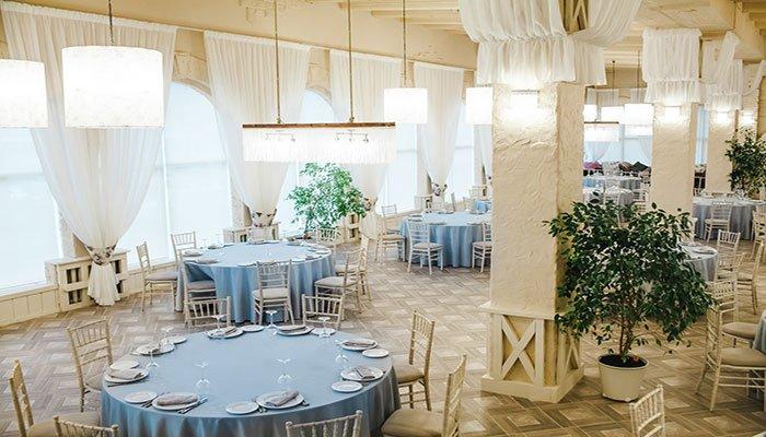 Ресторан для свадьбы, банкетный зал Дача на Приморской