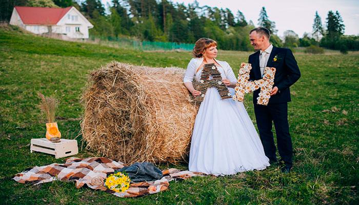 Коттедж на свадьбу Домино