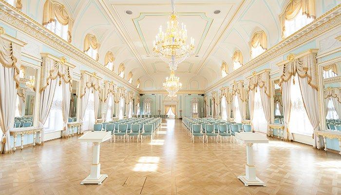 Ресторан для свадьбы, банкетный зал Константиновский Дворец в Стрельне