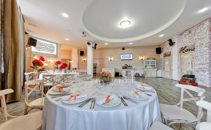 """Ресторан для свадьбы, банкетный зал """"Свит Хоум / Sweet Home"""""""