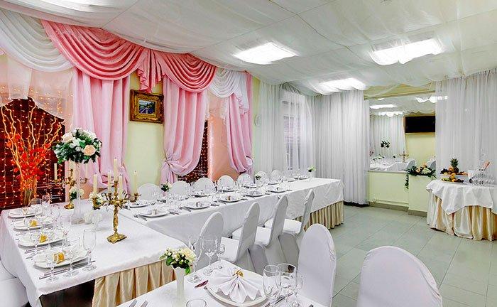 """Ресторан для свадьбы, банкетный зал """"Русское Солнце"""""""