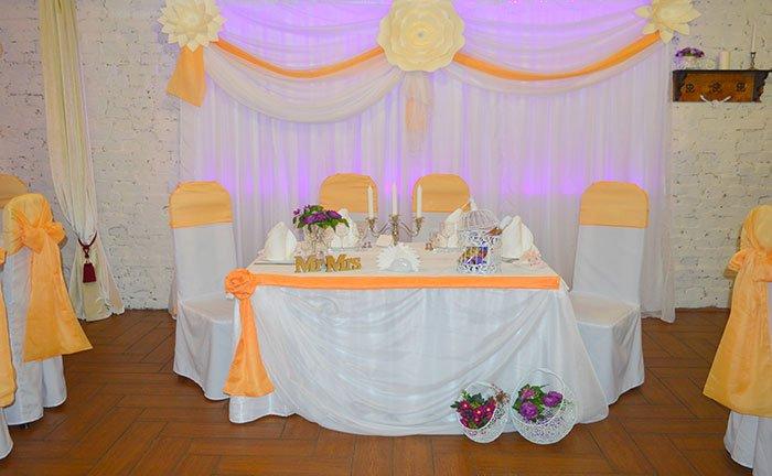 Ресторан для свадьбы, банкетный зал Олиус / Olius