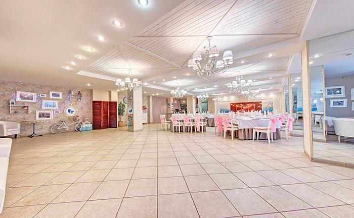 """Ресторан для свадьбы, банкетный зал """"Кафе Море"""""""