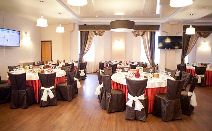 Ресторан для свадьбы, банкетный зал Аист