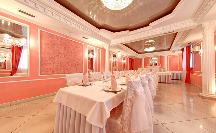 Ресторан для свадьбы, банкетный зал Империя