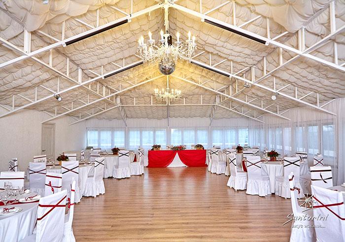 """Ресторан для свадьбы, банкетный зал """"Санторини / Santorini"""""""