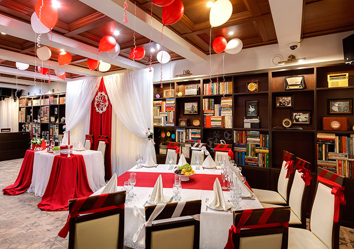 """Ресторан для свадьбы, банкетный зал """"Априори"""""""