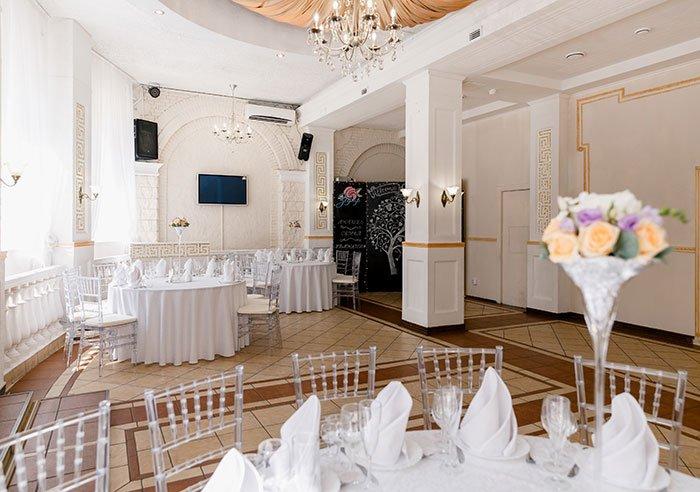 """Ресторан для свадьбы, банкетный зал """"Зефир"""""""