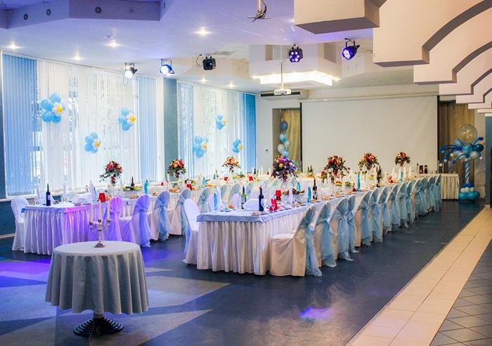 """Ресторан для свадьбы, банкетный зал """"Гелиос отель"""" в Зеленогорске"""