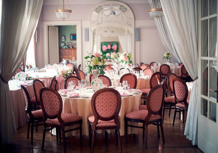 Ресторан для свадьбы, банкетный зал Хозяин Барин / Особняк Кочубея
