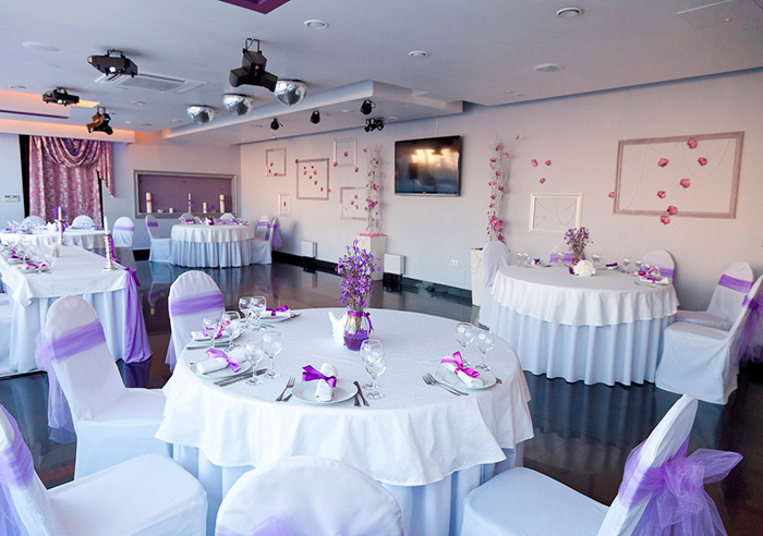 Ресторан для свадьбы, банкетный зал Шаляпин с террасой