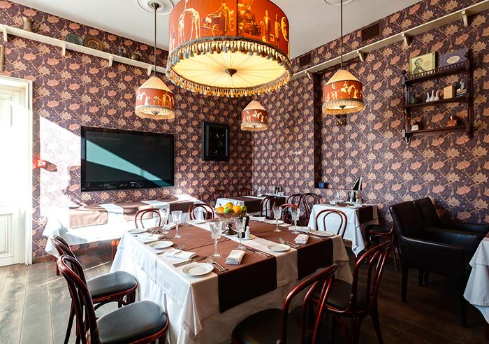 Ресторан для свадьбы, банкетный зал Шаляпин на Тверской