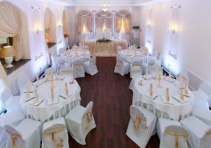 Ресторан для свадьбы, банкетный зал Галерея Императорский зал