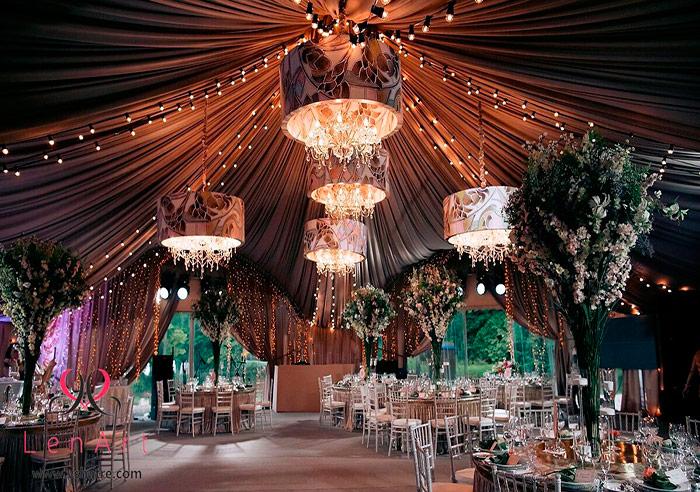 Загородный ресторан шатер для свадьбы на Финском заливе