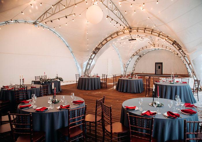 Ресторан для свадьбы, банкетный зал Ивент Руф / Event Roof