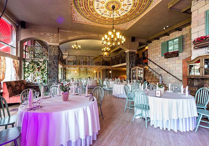 Ресторан для свадьбы, банкетный зал Лидо / Lido